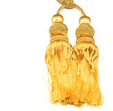 Golden knot top tassel Stock Photos