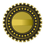 Golden Label Royalty Free Stock Image