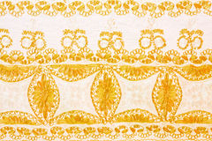 Golden lace Stock Images