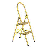Golden ladder Royalty Free Stock Photography