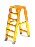 Golden ladder Stock Photo