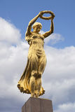 The Golden Lady of Luxembourg Stock Photo