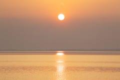 Golden lake Stock Image