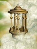 Golden lamp Stock Photo