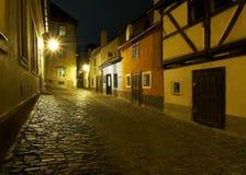 Golden Lane at Prague Castle Stock Photo