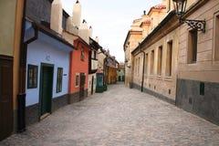 Golden lane in Prague Royalty Free Stock Photo