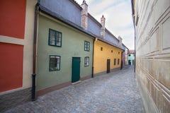 Golden Lane, Prague. Golden Lane Zlata ulicka, Prague, Czech Republic royalty free stock photography