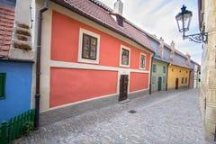 Golden Lane, Prague. Golden Lane Zlata ulicka, Prague, Czech Republic stock photography