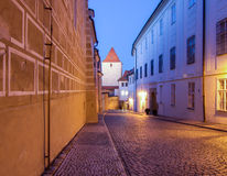 Golden Lane_Prague_Prague Castle Stock Photos