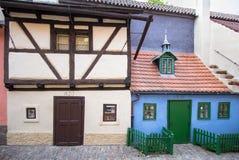 Golden Lane, Prague. Golden Lane Zlata ulicka, Prague, Czech Republic royalty free stock photos