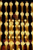 Golden lantern Stock Photo