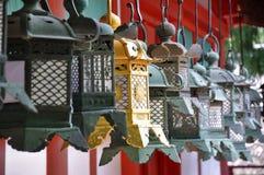 Golden lantern Royalty Free Stock Photography