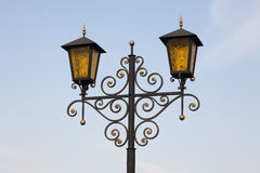 golden lanterns Στοκ Φωτογραφία
