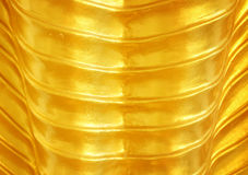 Golden layer texture Stock Image