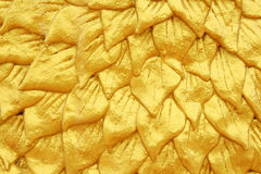 Golden layer texture Royalty Free Stock Image