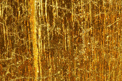 Golden layer texture Stock Images