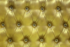 Golden leather Stock Photography