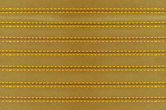 Golden leather background Stock Photo