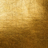 Golden leather background Royalty Free Stock Images