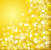 Golden light background royalty free stock photo