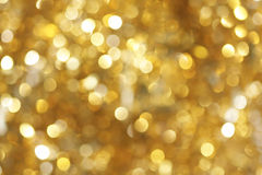 Golden light background Stock Images
