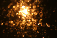 Golden light background Royalty Free Stock Images