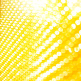 Golden light blurs. Luxury yellow light blurs. Defocused light Royalty Free Stock Photo