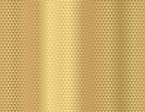 Seamless gold vector background of abstract pattern geometric triangle shapes. Golden light grey gradient backdrop Vector Illustration
