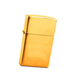 Golden lighter Stock Images