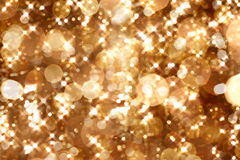 Golden lights Royalty Free Stock Photos