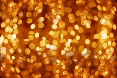 Golden Lights Stock Photos