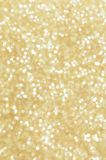 Golden lights abstract background Royalty Free Stock Images