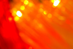 Golden Lights Background Stock Images