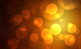Golden lights background Royalty Free Stock Image