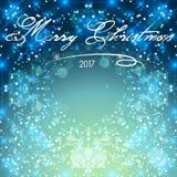 Golden Lights Background. Christmas Lights Concept. Vector illustration. Stock Images