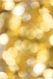 Golden lights background Royalty Free Stock Images