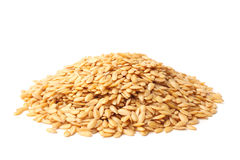 Golden linseed Royalty Free Stock Photos