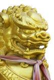 Golden lion Stock Image