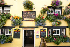 The Golden Lion Hotel. Stock Images