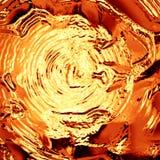 Golden liquid. Wave Stock Photography