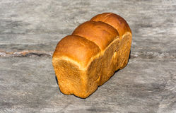 Golden loaf of bread. Royalty Free Stock Photo