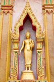 Golden lord Buddha Stock Image