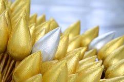 Golden lotus Royalty Free Stock Image