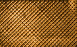 Luxury golden buttoned background Royalty Free Stock Images