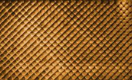 Luxury golden buttoned background. Golden luxury leather buttoned background Royalty Free Stock Images