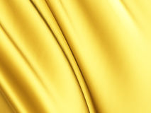 Golden luxury silk satin cloth smooth background Royalty Free Stock Image