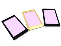 Golden Luxury Smartphone Stock Photos