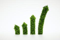 Ecology chart symbol Stock Image