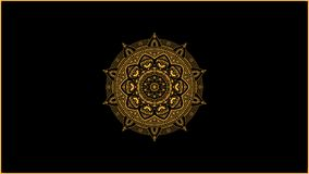 Golden mandala decoration vector vector illustration
