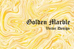 Golden marble background;Cover webpage or banner website;luxury. Background royalty free illustration
